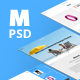 Material PSD template - ThemeForest Item for Sale