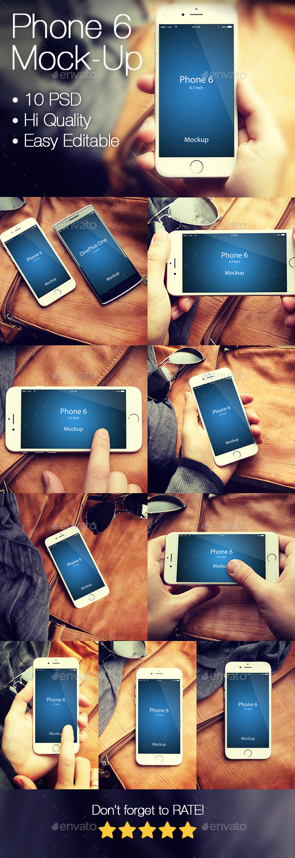 GraphicRiver Phone 6 Mockup 9794930