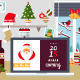 Merry Christmas Workspace - GraphicRiver Item for Sale