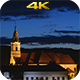 Getting Dark Over The Church - VideoHive Item for Sale