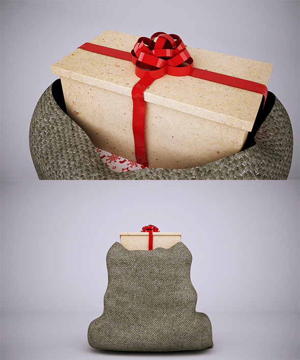 Christmas Sacks - 3DOcean Item for Sale
