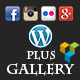 Plus Gallery | A Responsive photo WP gallery and Social gallery