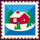 Merry Christmas Stamps - GraphicRiver Item for Sale