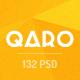 QARO - Clean & Modern PSD Template - ThemeForest Item for Sale