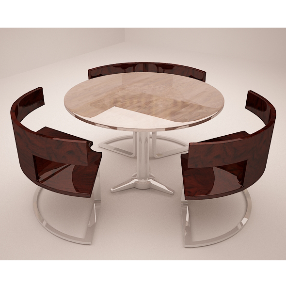 3DOcean Round Table 9837933