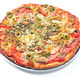 Delicious italian pizza isolate on white  - PhotoDune Item for Sale