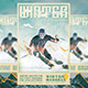 Winter Skiing Madness Flyer - GraphicRiver Item for Sale