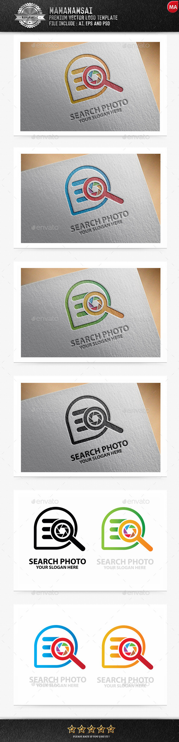 GraphicRiver Search Photo Logo 9838827