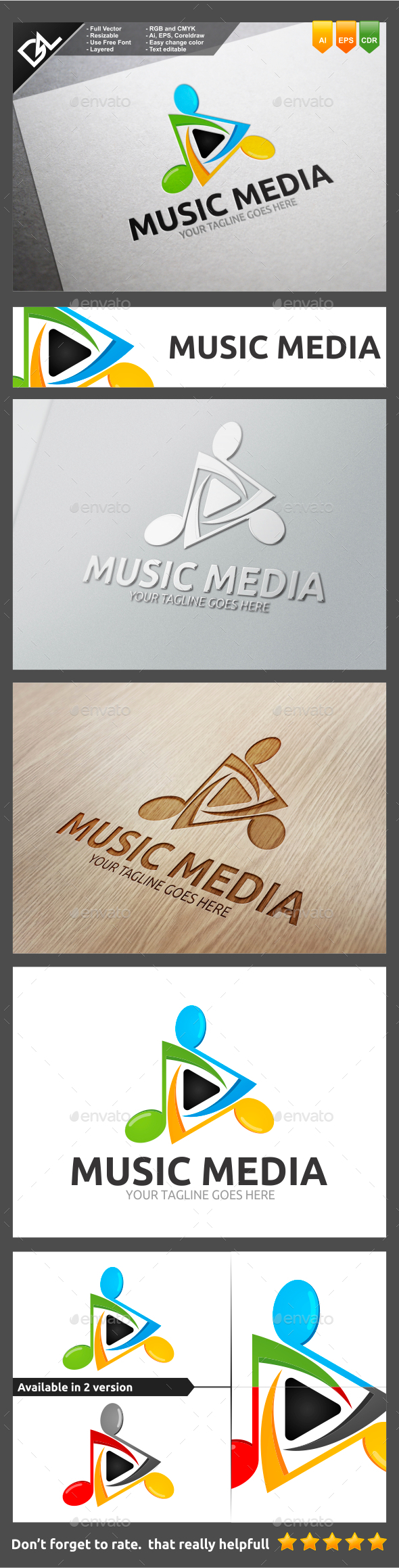 GraphicRiver Music Media 9802988