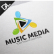 Music Media - GraphicRiver Item for Sale