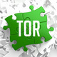 TOR on Green Puzzle. - PhotoDune Item for Sale