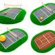 Sport Concepts - Set of 3D Illustrations. - PhotoDune Item for Sale