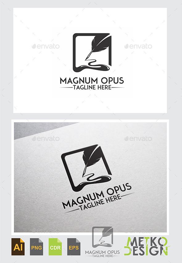 GraphicRiver Magnum Opus Logo 9777166