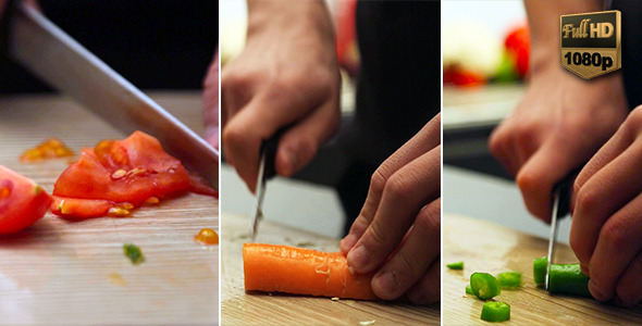 Chopping Vegetable