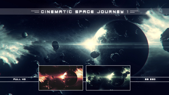 Cinematic Space Journey