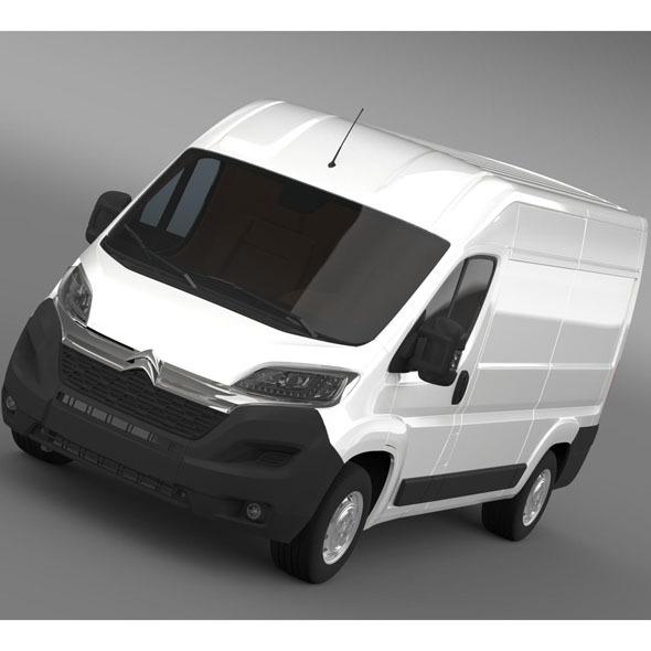 Citroen Relay Van L2H2 2015 - 3DOcean Item for Sale