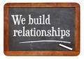 We build relationships - PhotoDune Item for Sale