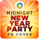 New Year Party FB Covers - GraphicRiver Item for Sale
