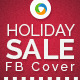 Holiday Sale Facebook Covers - 4 Designs - GraphicRiver Item for Sale