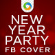New Year Eve Party FB Cover - GraphicRiver Item for Sale