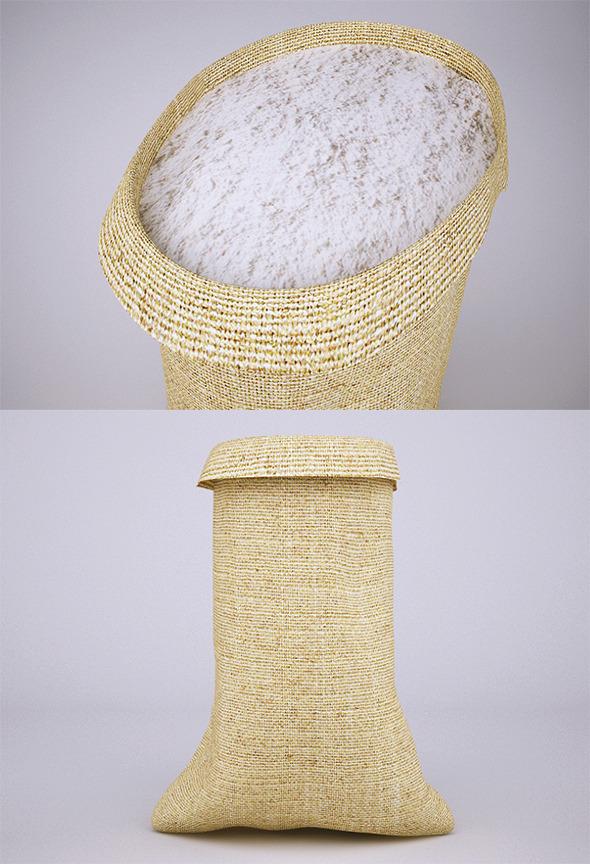 3DOcean Flour Sack VrayC4D 9840624