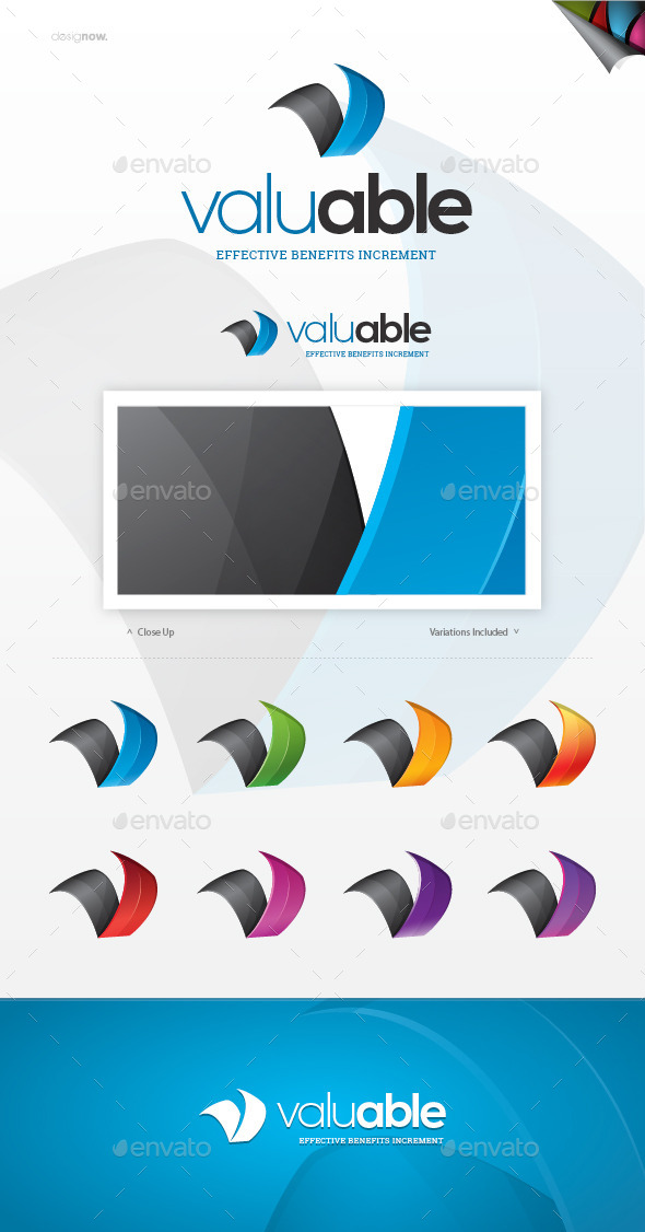 GraphicRiver Valuable Logo 9840661