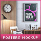 Posters Interior Mock-Up vol.6 - GraphicRiver Item for Sale
