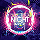 Electro Night Party Flyer Template Vol. 2 - GraphicRiver Item for Sale