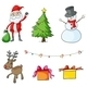 Different Christmas Symbols - GraphicRiver Item for Sale