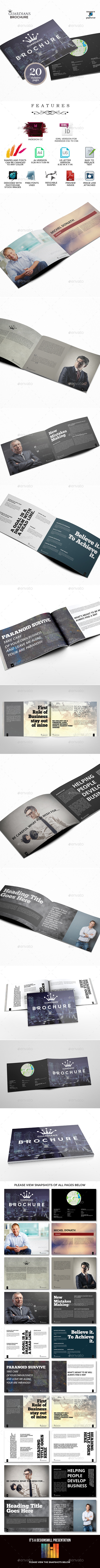 GraphicRiver Guardians Landscape Brochure for Business 9699672