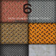 6 Background Metal Seamless Pattern Tileable - GraphicRiver Item for Sale