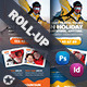 Winter Tour Roll-Up Templates - GraphicRiver Item for Sale