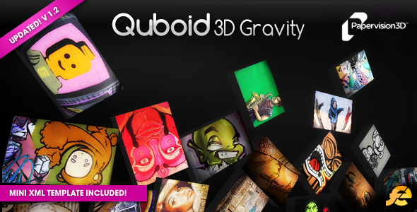 Quboid 3D Gravity Media Viewer - ActiveDen Item for Sale