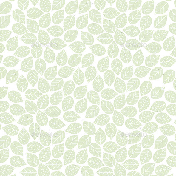 GraphicRiver Leaf Pattern 9842502