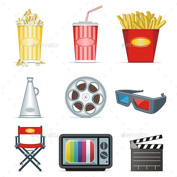 GraphicRiver Movie Icons 9842872