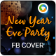 New Year Party FB Cover - GraphicRiver Item for Sale
