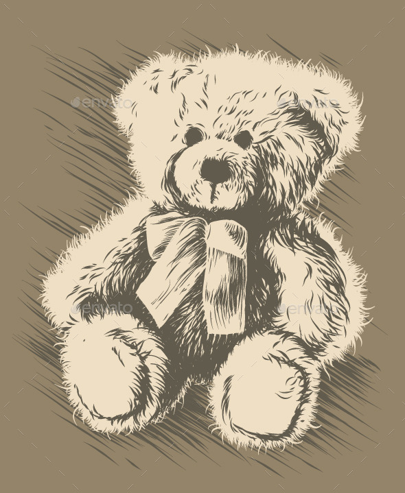GraphicRiver Teddy Bear 9842951