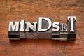 mindset word in metal type - PhotoDune Item for Sale