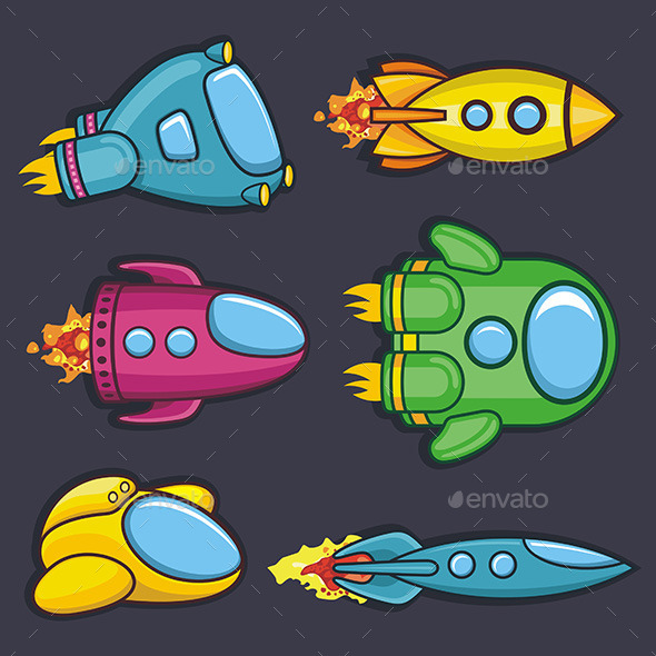 GraphicRiver Spacecraft 9843758