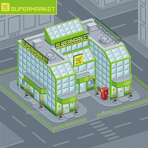 GraphicRiver Supermarket 9843850