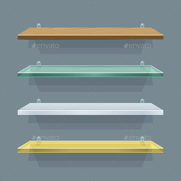 GraphicRiver Shelves 9843877