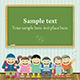 Kids in School - GraphicRiver Item for Sale