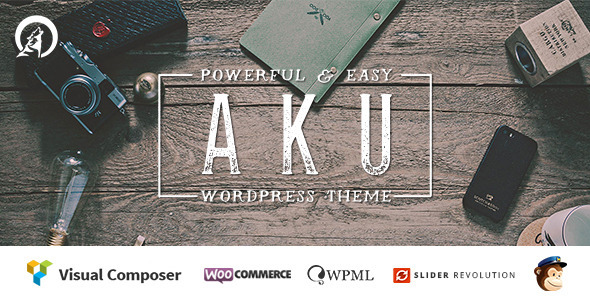 ThemeForest Aku Powerful and Easy Wordpress Theme 9739907