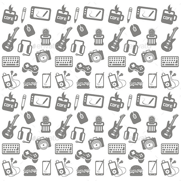 GraphicRiver Web Icon Pattern 9844260