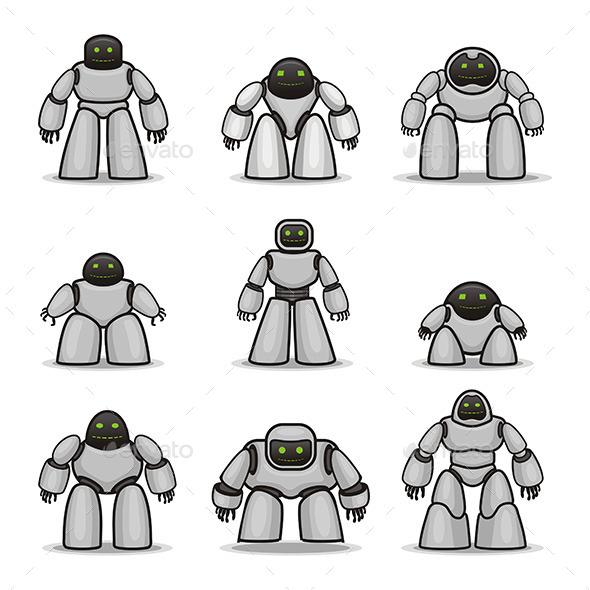 GraphicRiver Robots 9844565