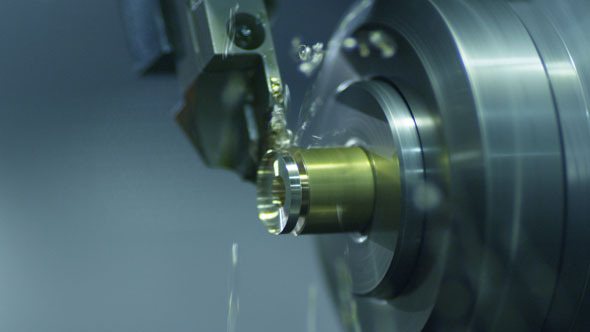 CNC Lathe Produces Metal Detail on Factory 3