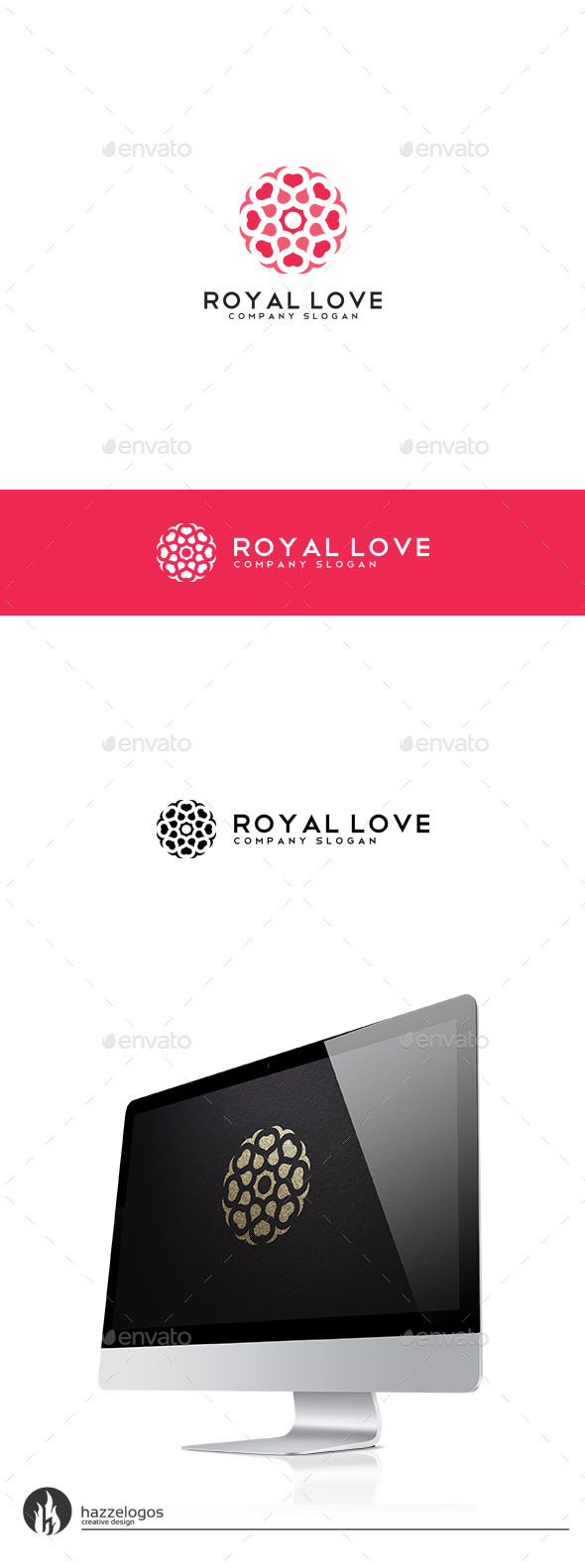 GraphicRiver Royal Love Logo 9844605