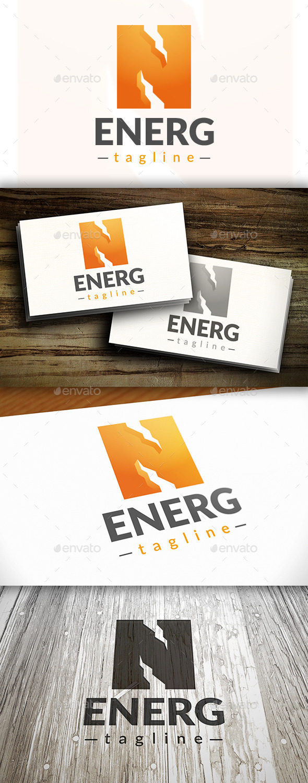 GraphicRiver Energy Logo 9844722