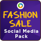 Fashion Sale Social Media Graphic Pack - GraphicRiver Item for Sale