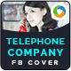 Phone Company Facebook Cover - GraphicRiver Item for Sale
